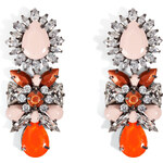Shourouk Blondie Caramel Earrings
