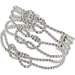 Topshop Twisted Rope Cuff Bracelet