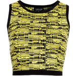 Topshop City Tribe Sleeveless Crop Top