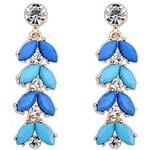 LightInTheBox Women's European and America Fashion Layers Drops Tassel Stud Drop Earrings (More Colors) (1 Pair)