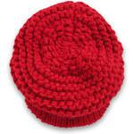 Esprit chunky knit cap with a visor