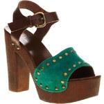 Baťa Módní sandály z barevné kůže