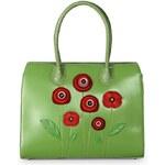 Vendula Vendula - Victoria bag Poppy - Designová kabelka - Zelená Zelená