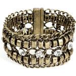 R.J.Graziano Chain Link Bracelet in Brass