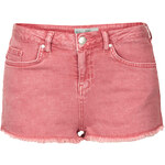 Topshop MOTO Red Daisy Mini Hotpants