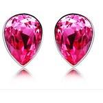 LightInTheBox Mei Red Rain Austrian Diamond Stud Earrings