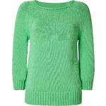 Diane von Furstenberg Endive Cotton-Blend Averill Pullover