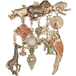 Topshop Freedom Found Collection Zoo Animals Brooch