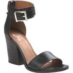 Baťa Rafinované sandály v černé barvě
