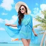 LightInTheBox Women's Solid Color Fashion Wild Sea Beach Blouse