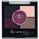 Rimmel Paletka 5 očních stínů (Glam' Eyes 5 Pan) 3,8 g 025 Victoria's Purple