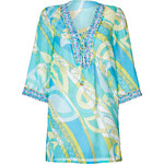 Emilio Pucci Cotton-Silk Printed Tunic