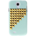 LightInTheBox Gold Stairs Rivet Pattern Hard Back Cover Case for Samsung Galaxy S4 I9500