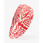 FOREVER21 Ruched Geo Print Headwrap