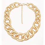 FOREVER21 Matte Curb Chain Necklace
