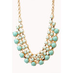 FOREVER21 Opulent Layered Bib Necklace