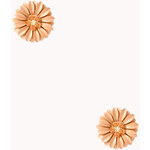 FOREVER21 Garden Chic Floral Studs