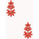 FOREVER21 Posh Cluster Drop Earrings
