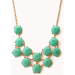 FOREVER21 Heirloom Faux Stone Necklace