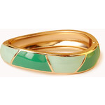 FOREVER21 Geo-Chic Hinged Cuff
