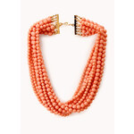 FOREVER21 Eclectic Beaded Necklace