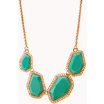 FOREVER21 Touch-Of-Glam Bib Necklace