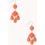 FOREVER21 Old Charm Drop Earrings