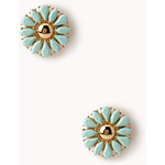 FOREVER21 Statement Floral Studs