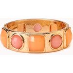 FOREVER21 Fancy Faux Stone Hinge Bracelet