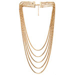 FOREVER21 Flat Multi-Chain Necklace