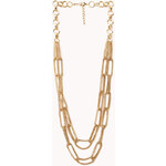 FOREVER21 Goddess Layered Chain Necklace