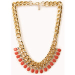 FOREVER21 Glam Layered Bib Necklace