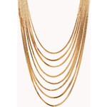 FOREVER21 Luxe Layered Chain Necklace