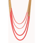 FOREVER21 Neon Pop Layered Necklace