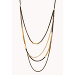 FOREVER21 Modernist Layered Necklace