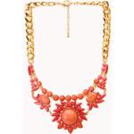 FOREVER21 Sunburst Bib Necklace