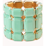 FOREVER21 Show Off Faux Stone Bracelet