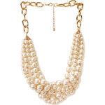 FOREVER21 Signature Pearlescent Necklace