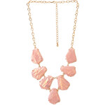 FOREVER21 Be Seen Iridescent Bib Necklace