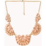 FOREVER21 Elegant Faux Stone Bib Necklace