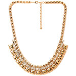 FOREVER21 Pyramid Studded Collar Necklace