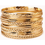FOREVER21 Goddess Bangle Set
