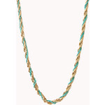FOREVER21 Sweet Twisted Bead Necklace