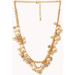 FOREVER21 Luxe Lover Faux Pearl Necklace