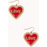 FOREVER21 Romantic At Heart Earrings