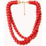 FOREVER21 Candy-Coated Bead Necklace