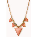 FOREVER21 Modernist Geo Necklace