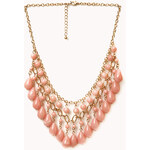 FOREVER21 Dangling Beaded Necklace