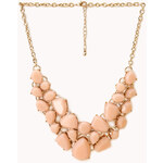 FOREVER21 Sweet Side Bib Necklace