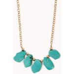 FOREVER21 Free Spirit Natural Stone Necklace
